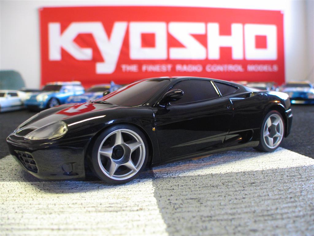 Kyosho Mini-Z Ferrari 360 Modena GlossCoat AutoScale Body - Black