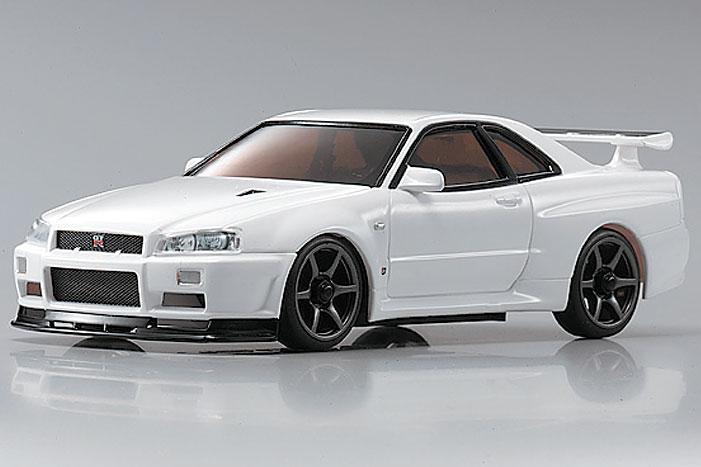 Kyosho Mini-Z Nissan Skyline GT-R R34 V spec II Nur MA-010 GlossCoat